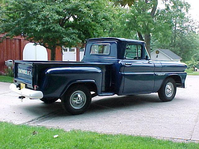 Chevrolet C 10 Standard Cab Pickup 1960 Marlin Blue For