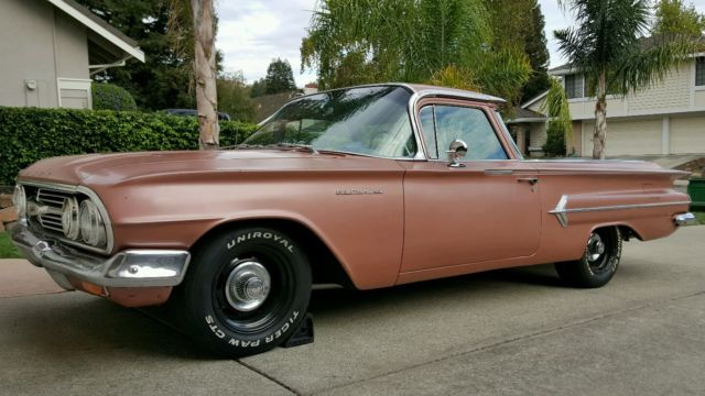 Chevrolet El Camino Extended Cab Pickup 1960 Copper For