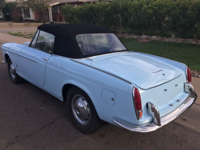 Fiat Of Scottsdale >> Fiat Other Convertible 1960 Baby Blue For Sale. 118G001355 1960 Fiat 1200 Cabriolet