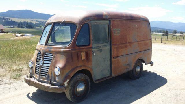international harvester other van 1960 gray for sale am122m21059b 1960 ihc metro step van truck. Black Bedroom Furniture Sets. Home Design Ideas