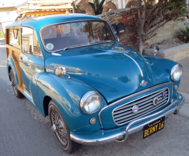 Other Makes Morris Minor Wagon 1960 Blue For Sale