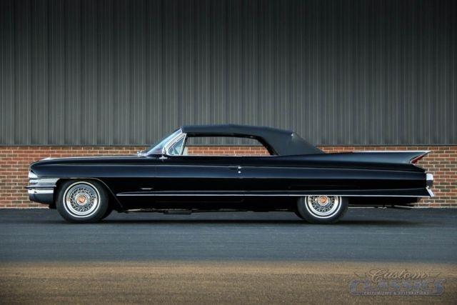 Cadillac Series 62 Convertible Convertible 1961 Black For Sale ...