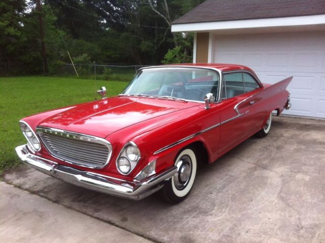 chrysler newport coupe 1961 red for sale 99999 1961. Black Bedroom Furniture Sets. Home Design Ideas