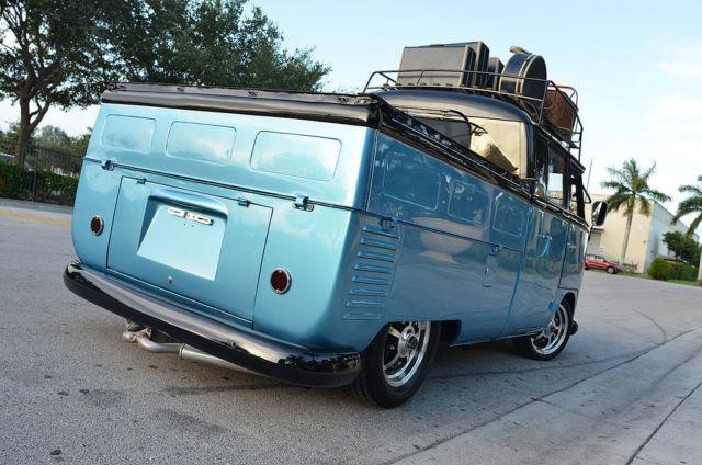 Volkswagen Bus Vanagon 1961 Black Blue For Sale 685092