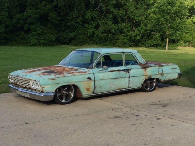Chevrolet Impala Sedan 1962 Green For Sale 1962 Chevrolet