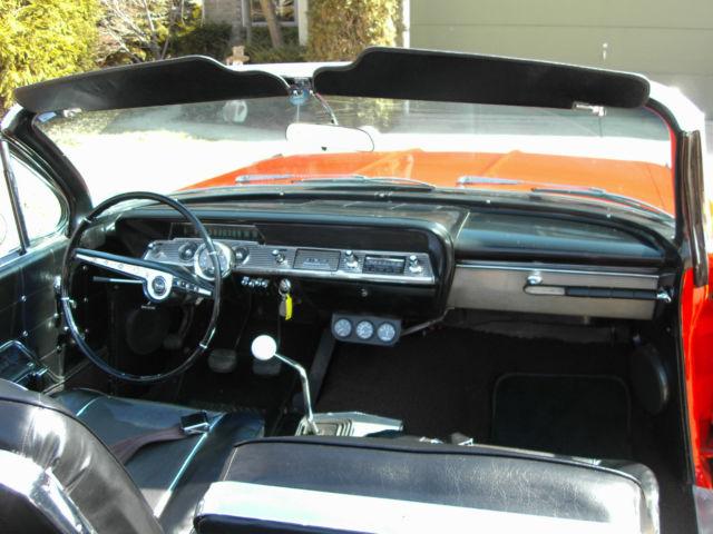 Chevrolet Impala Convertible Super Sport 1962 Roman Red ...