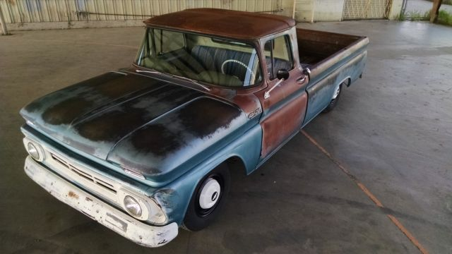 Chevrolet C 10 1962 Mostly Blue For Sale 1962 Chevy C20