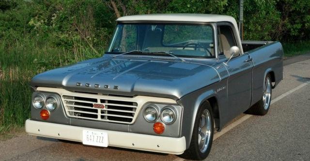 dodge other pickups sweptline 1962 silver for sale 1962. Black Bedroom Furniture Sets. Home Design Ideas