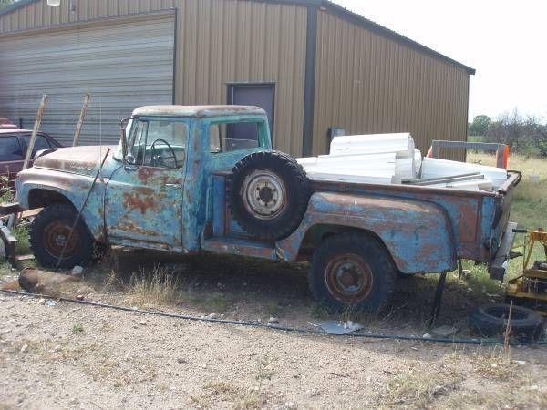 international harvester other standard cab pickup 1962 blue for sale 1962 ih model 120 truck. Black Bedroom Furniture Sets. Home Design Ideas