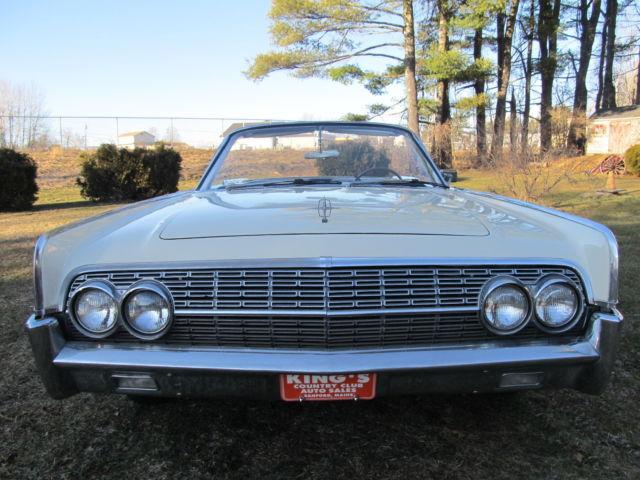 Lincoln Continental Convertible 1962 CREAM BEIGE For Sale 2Y86H425912 LINCOLN CONTINENTAL CONVERTIBLE SUICIDE 4 DOOR DECENT DRIVER