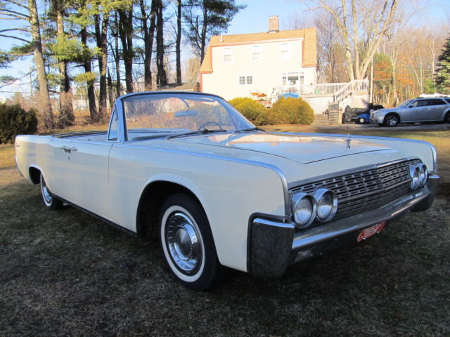 lincoln continental convertible 1962 cream beige for sale. Black Bedroom Furniture Sets. Home Design Ideas