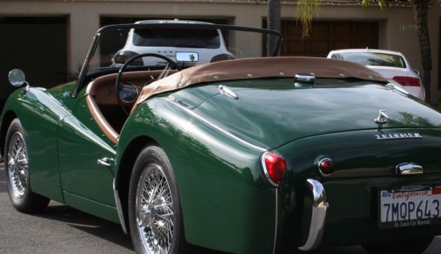 Triumph Other Convertible 1962 British Racing Green For Sale