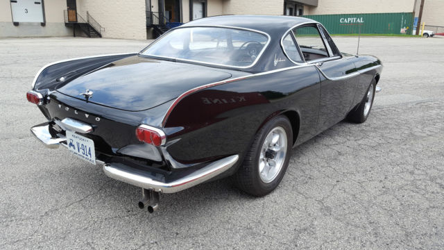 volvo p1800 coupe 1962 black for sale 3687 1962 volvo p1800 jensen built numbers matching. Black Bedroom Furniture Sets. Home Design Ideas