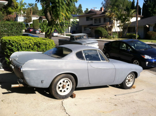 volvo p1800 volvo other coupe 1962 primer gray for sale a623077 1962 volvo