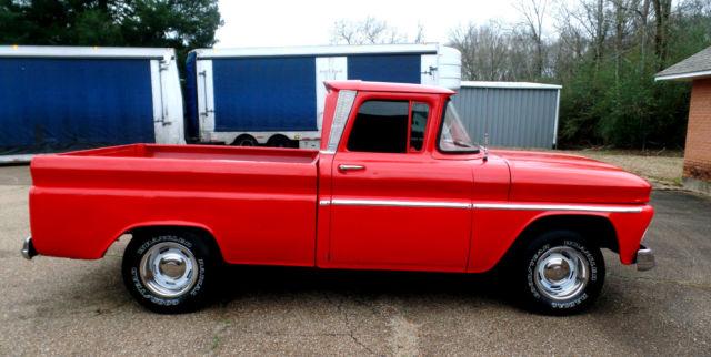 chevrolet c 10 pickup truck chevy gmc c 10 other 1500 2wd swb v8 1963 red for sale 14k8rz166311. Black Bedroom Furniture Sets. Home Design Ideas