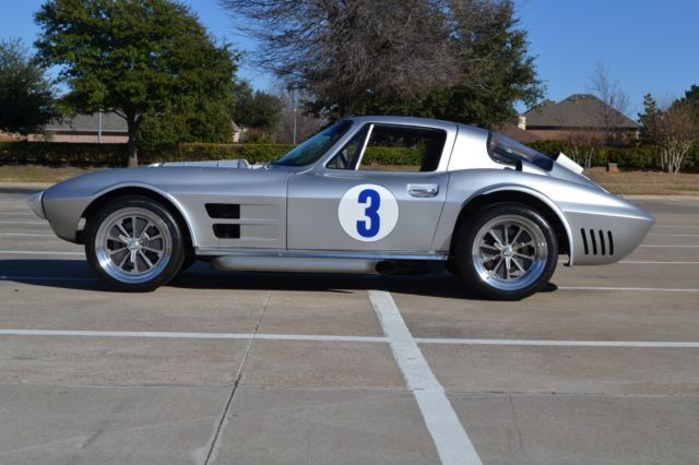chevrolet corvette coupe 1963 silver for sale tex111700 1963 corvette grand sport by timeless. Black Bedroom Furniture Sets. Home Design Ideas