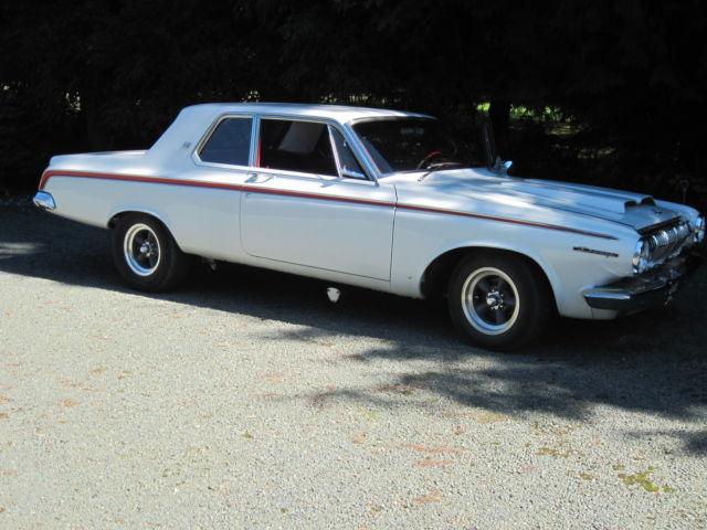 Dodge Coronet Sedan 1963 White For Sale 6232200106 1963