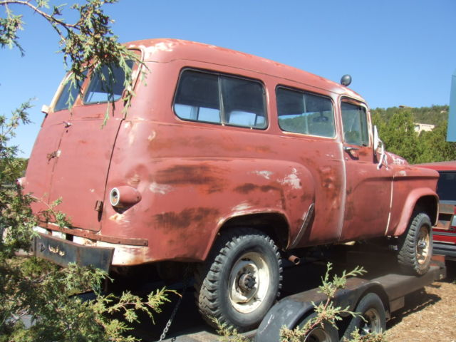Dodge Power Wagon Suv 1963 Red For Sale 2181273966 1963 Dodge Power