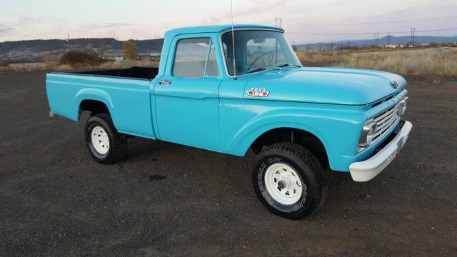ford f 100 standard cab pickup 1963 blue for sale f11cr353520 1963 ford f 100 4x4 pickup truck. Black Bedroom Furniture Sets. Home Design Ideas