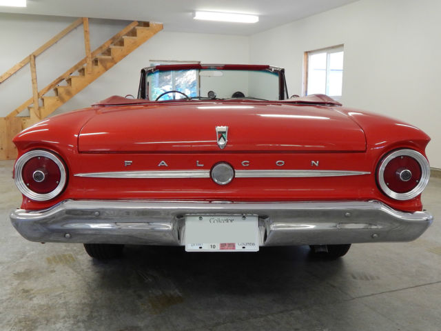 ford falcon convertible 1963 red for sale xfgivenvin