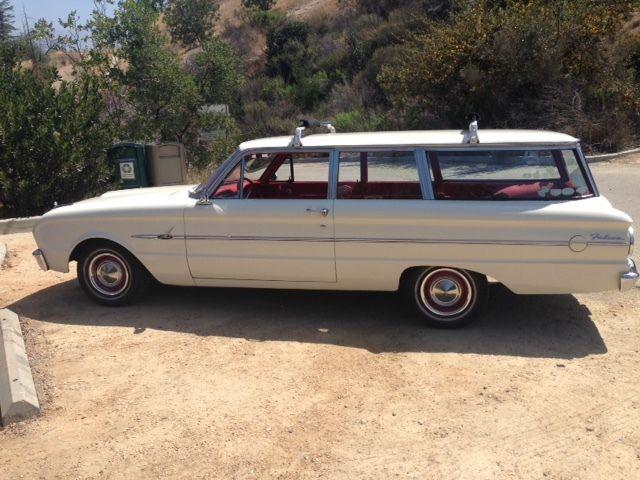 Ford Falcon Wagon 1963 White For Sale 3t23u183269 1963