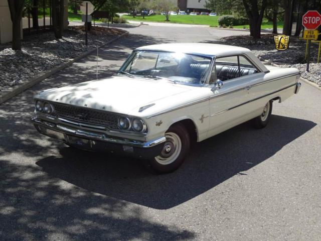 Ford Galaxie 1963 White For Sale  GCCDET747 1963 Ford