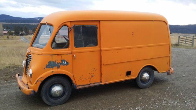 international harvester other van 1963 orange for sale am122m39782b 1963 ihc metro step van. Black Bedroom Furniture Sets. Home Design Ideas