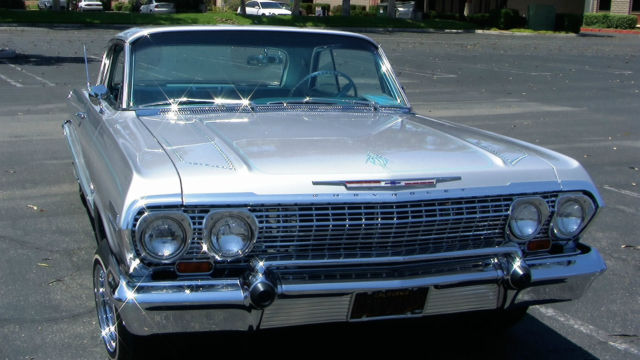 Chevrolet Impala Coupe 1963 Silver For Sale. 1963 Impala ...