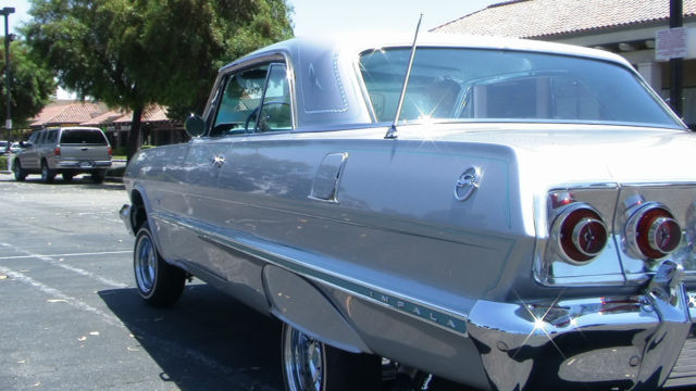 Chevy El Paso >> Chevrolet Impala Coupe 1963 Silver For Sale. 1963 Impala ...