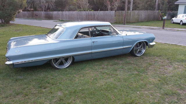 Chevrolet Impala Coupe 1963 Blue For Sale 31847A162137