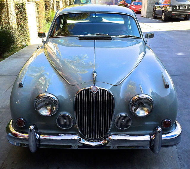 Jaguar Mk2 3.8 Automatic 1963 Cornish Grey For Sale