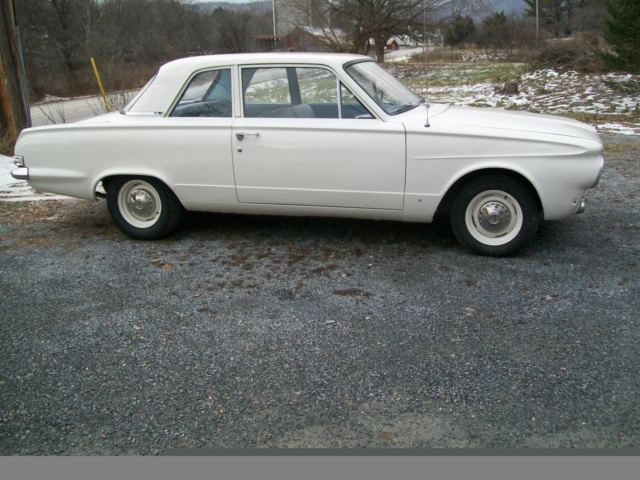 plymouth other 1963 white for sale 1963 plymouth valiant 2dr post west coast car rust free 225. Black Bedroom Furniture Sets. Home Design Ideas