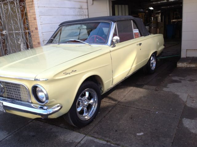 plymouth other convertible 1963 yellow for sale 1432541053 1963 signet 200 convertible plymouth. Black Bedroom Furniture Sets. Home Design Ideas