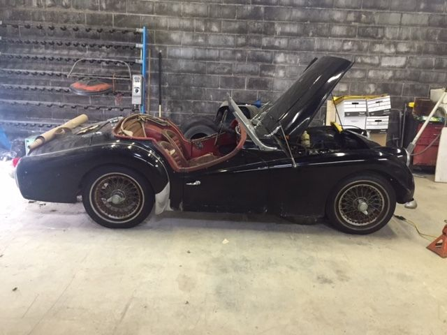 Other Makes Triumph Convertible 1963 Black For Sale