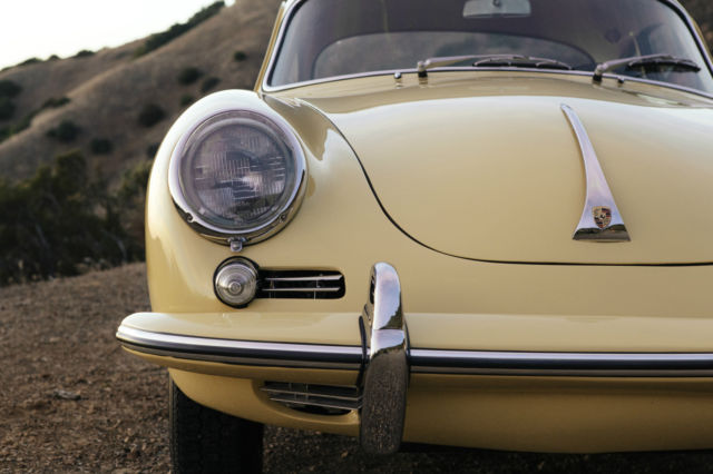 Porsche 356 Coupe 1964 Champagne Yellow For Sale 215839