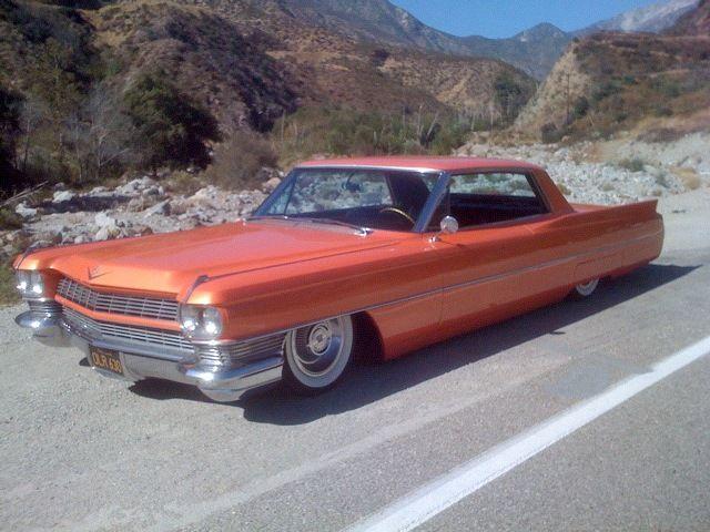 cadillac deville coupe 19640000 orange for sale 1964. Black Bedroom Furniture Sets. Home Design Ideas