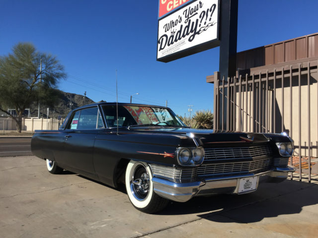 Cadillac DeVille Hardtop 1964 Black For Sale 64 62 2 Door