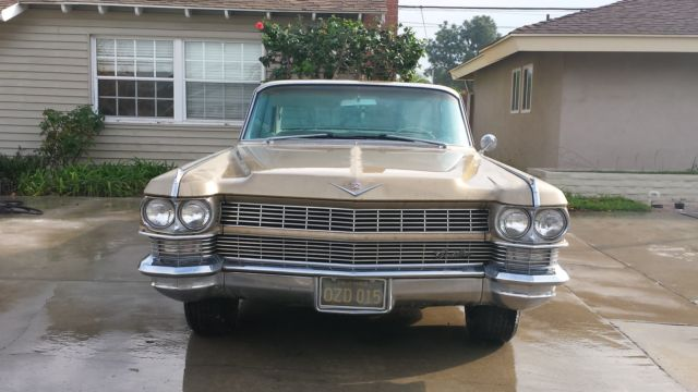Cadillac Deville Hardtop Gold For Sale