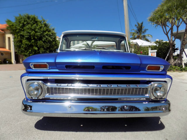 Chevrolet C-10 Crew Cab Pickup 1963 Blue/White For Sale