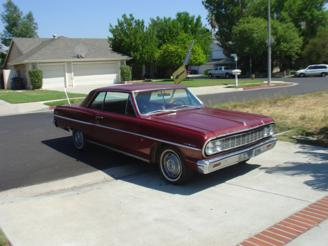 Chevrolet Chevelle Coupe 1964 Palomar Red For Sale  1964 Chevy