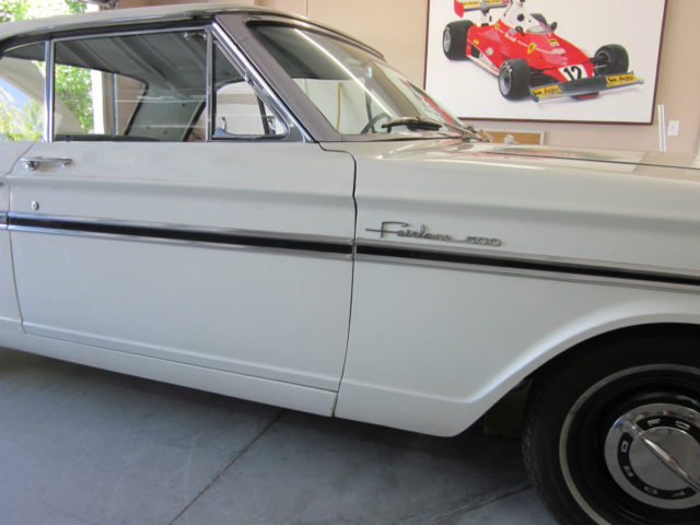 Ford Fairlane COUPE 1964 WIMBLETON WHITE For Sale  4R43C138926 1964