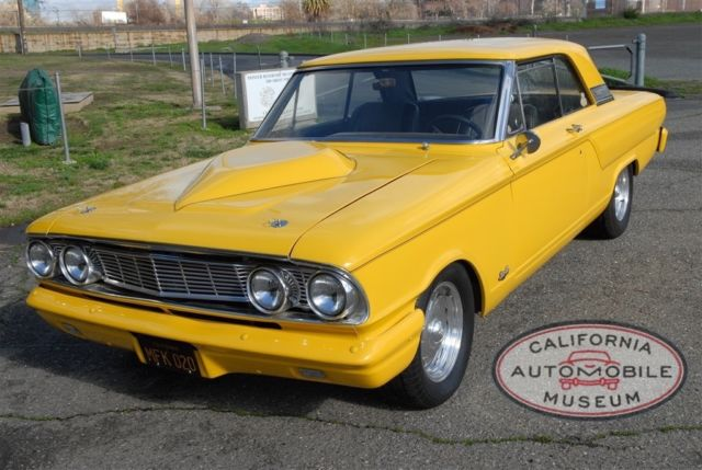 Ford Fairlane Coupe 1964 Yellow For Sale  4R43C163028 1964 Ford