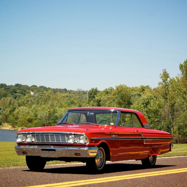 Ford Fairlane 1964 Red For Sale  4K43C155288 1964 Ford Fairlane 500