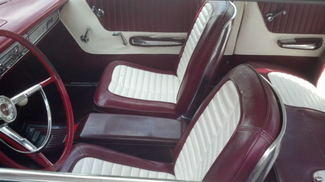 ford galaxie 2 door fastback 1964 white for sale 4n66z134786 1964 ford galaxie 500 white. Black Bedroom Furniture Sets. Home Design Ideas