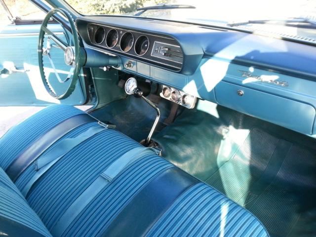 Pontiac Tempest 2 Dr Post 1964 Aqua Marine For Sale