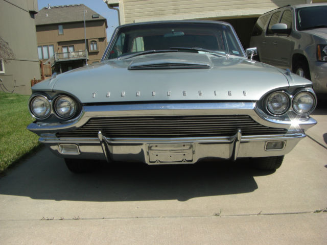 Ford Thunderbird Coupe 1964 Metallic Blue Silver Mink For Sale