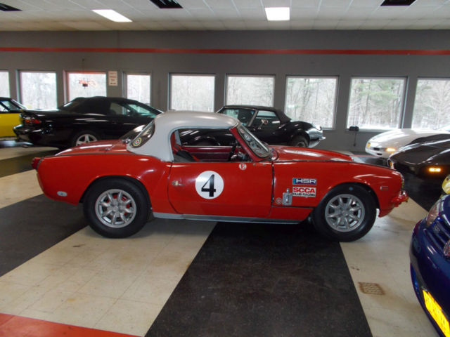 Triumph Spitfire Convertible 1964 Red For Sale. 20292FC
