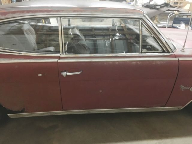 Amc Rambler Marlin Fastback 1965 Red For Sale  4102350