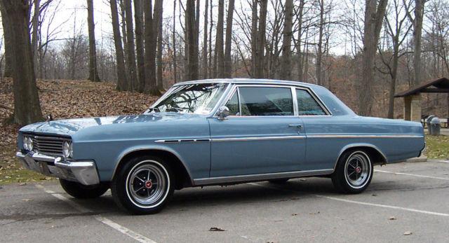 Auto Auction San Diego >> Buick Skylark 2 door sedan 1965 Astro blue mettalic code D ...