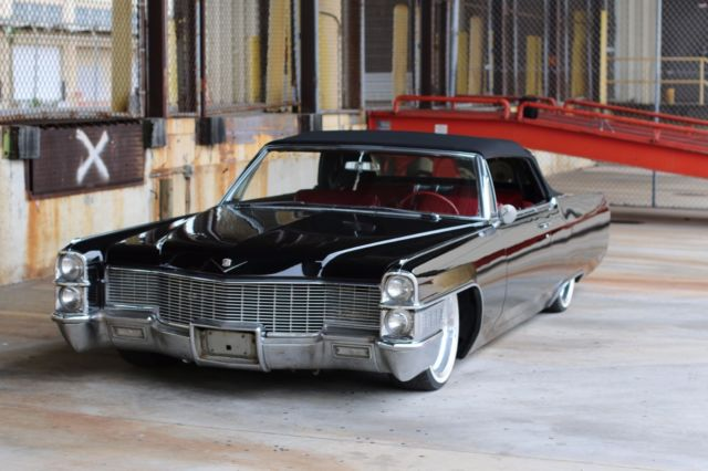 1965 Cadillac Deville For Sale: Cadillac DeVille Convertible 1965 Black For Sale. 1965